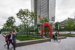 Fietsparkeergarages Mahlerplein en Vijfhoek, Amsterdam